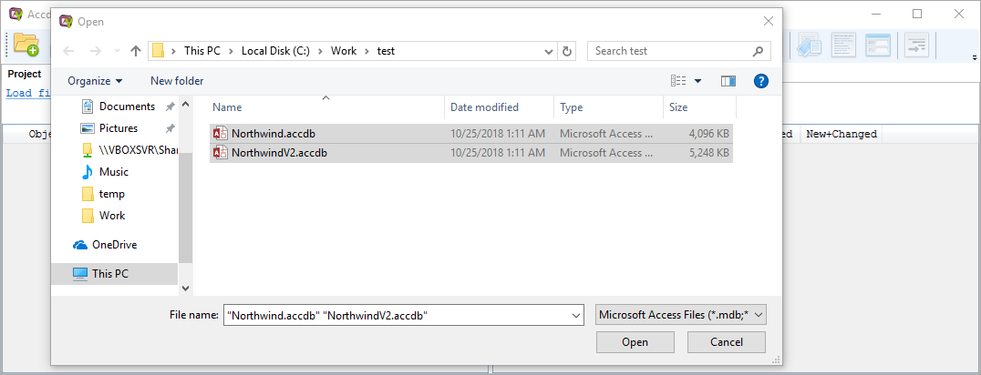 KS DB Diff & Merge Tools for Microsoft Access (AccdbMerge)